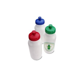 Sport Bottle with Push Pull Lid - 20 oz. - Just Say No Image 1 of 2