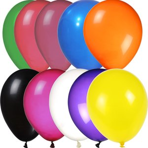 "Balloon - 11"" Crystal Colors"