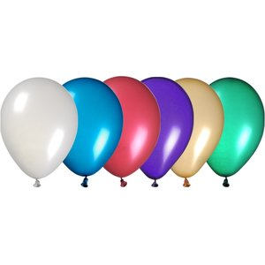 "Balloon - 11"" Metallic Colors - 24 hr"