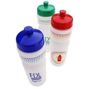 Sport Bottle with Push Pull Lid - 28 oz. - Just Say No Image 1 of 1