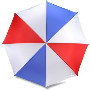 Budget-Beater Golf Umbrella - Red/White/Blue Image 2 of 3