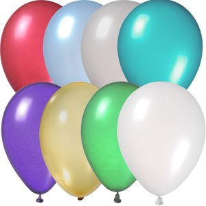 "Balloon - 9"" Metallic Colors"