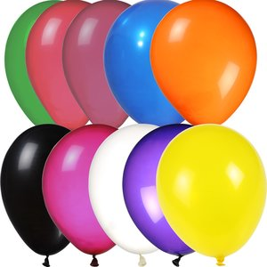 "Balloon - 9"" Crystal Colors"