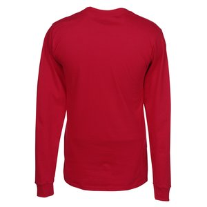 Hanes LS Beefy-T - Screen - Colors Image 1 of 1