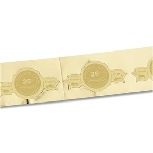 Embossed Seal by the Roll - Banner - 1-1/4