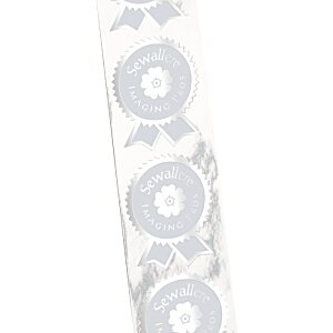Embossed Seal by the Roll - Ribbon with Pinked Edges - 2