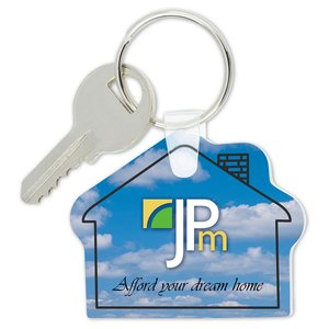 House Soft Key Tag - Full Color Image 1 of 1