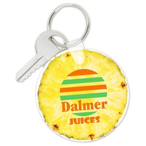 Round Soft Keychain - Full Color Image 1 of 1