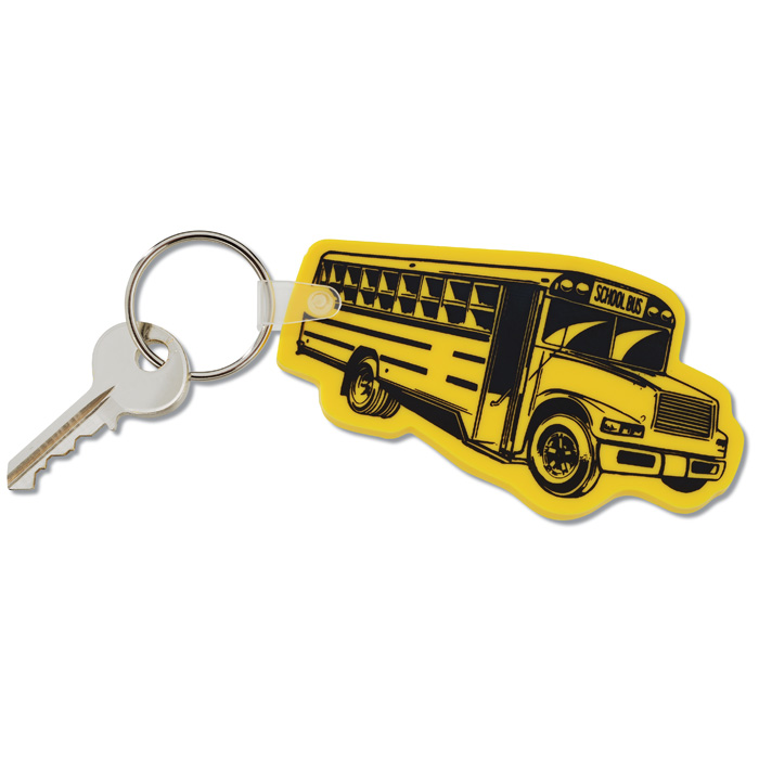 4imprint.com  School Bus Soft Keychain - Opaque 39212-SBS-S ce3706fc7