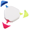 View Extra Image 1 of 1 of TriMark Highlighter - Opaque - White - 24 hr