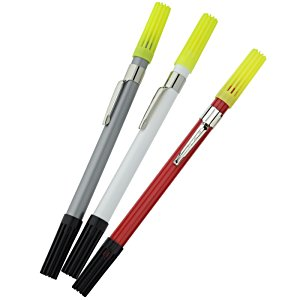 Economy 2-in-1 Pen - Plastic Point