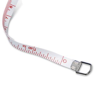 Deluxe Fabric Tape Measure - Translucent - 24 hr Image 1 of 1