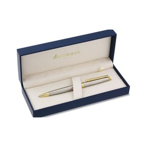 Waterman Hemisphere Twist Metal Pen - Stainless Steel Image 1 of 2