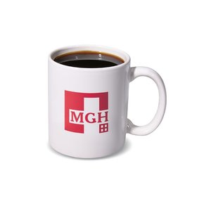 Budget-Beater White Mug - 11 oz. Image 2 of 4