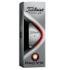 View Extra Image 1 of 1 of Titleist Pro V1x Golf Ball - Dozen - Factory Direct