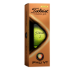 View Extra Image 1 of 2 of Titleist Pro V1 Yellow Golf Ball - Dozen - Factory Direct