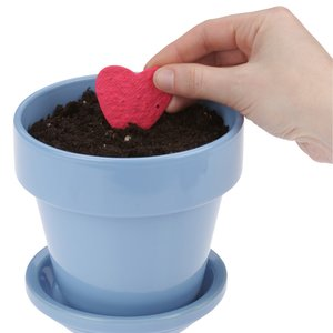 Plant-A-Shape Flower Seed Bookmark - Flower Pot Image 3 of 3