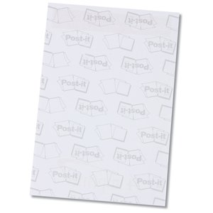 Post-it® Notes - 6x4 - Exclusive - Flowers - 25 Sheet Image 2 of 2