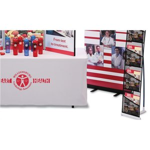 Fold N Go Tabletop Display - 6' – Full Color - Kit Image 3 of 4