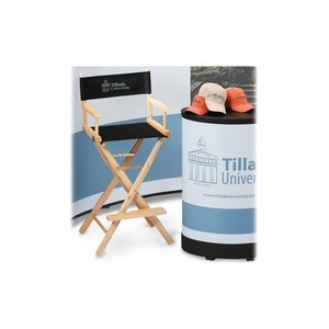 Deluxe Curved Floor Display - 10' - Mural Center - Kit Image 1 of 4