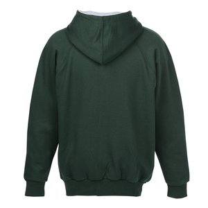 Thermal-Lined Full-Zip Sweatshirt - Screen Image 2 of 2