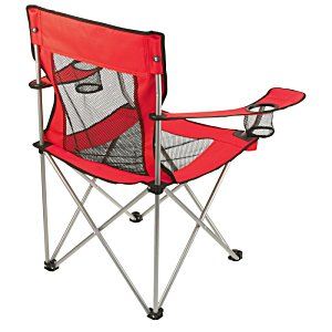 Mesh Folding Chair with Carrying Bag Image 1 of 6