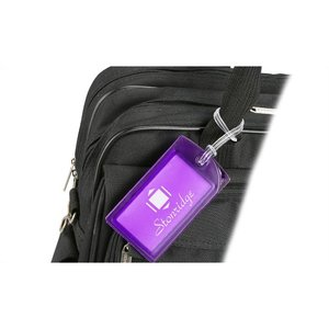 Explorer Luggage Tag - Translucent - 24 hr