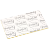 """View Extra Image 1 of 1 of Post-it® Business Card Notes - 2"""" x 3-1/2"""" - 50 Sheet"""