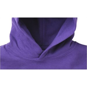 Gildan 50/50 Hooded Sweatshirt - Applique Twill - White Image 2 of 3