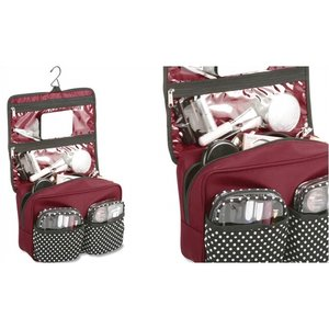 Polka Dot Cosmetic Case - Closeout Image 1 of 4