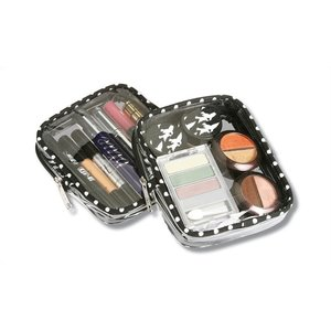 Polka Dot Cosmetic Case - Closeout Image 3 of 4