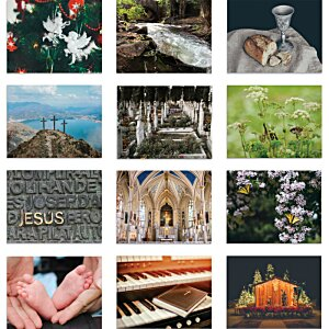 Religious Reflections Calendar - Stapled Image 1 of 1