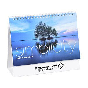Simplicity Desk Calendar - Large Image 2 of 5