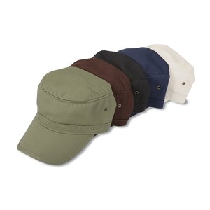 Organic Military Cap Image 2 of 2