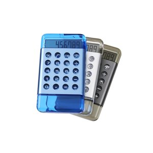 Solara Polished Calculator - Closeout