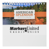 View Extra Image 4 of 6 of American Splendor Tent-Style Desk Calendar