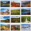 View Extra Image 5 of 5 of American Splendor Tent-Style Desk Calendar