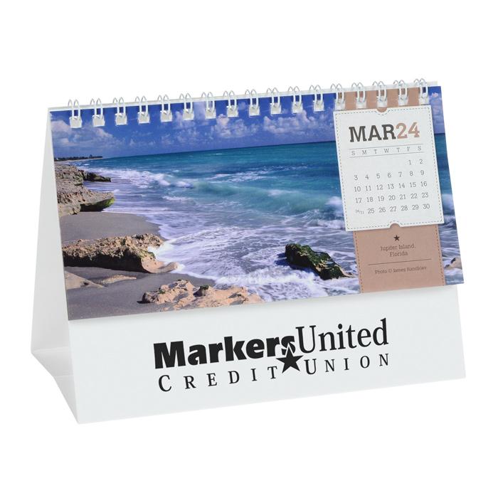 Loading zoom  sc 1 st  4Imprint & 4imprint.com: American Splendor Tent-Style Desk Calendar 101093-TN ...