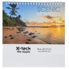 Scenic Moments Tent-Style Desk Calendar Image 1 of 5