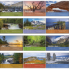 View Extra Image 4 of 4 of Scenic Moments Tent-Style Desk Calendar