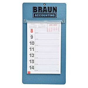 Weekly Tear Away Memo Calendar - Solids
