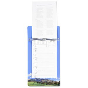 Weekly Tear Away Memo Calendar - Mountain
