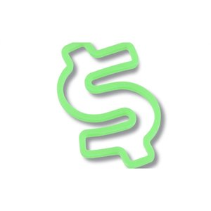 Rubber Bandz - Dollar Sign Image 1 of 4