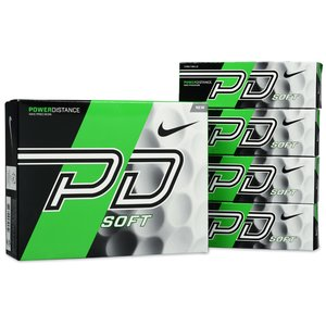 Nike Power Distance Soft Golf Ball - Dozen