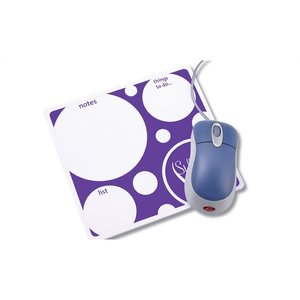 Note Paper Mouse Pad - Bubbles Image 1 of 2