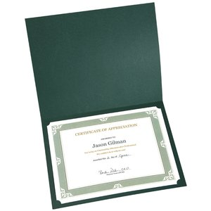 Certificate Holder – Leatherette Image 1 of 1