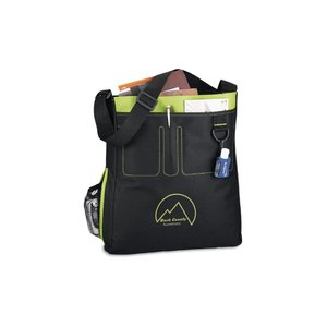 Stitched Organizer Tote - Closeout Colors Image 1 of 2