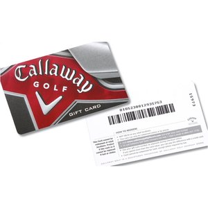 Callaway Gift Card - 100 Image 2 of 2