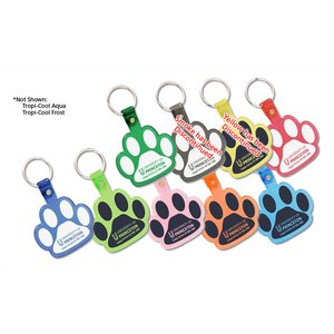 Paw Shaped Keychain - Translucent Image 2 of 2