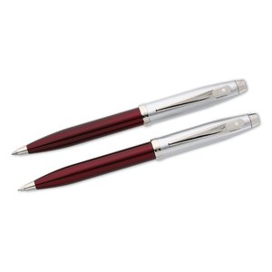 Sheaffer Twist Metal Mechanical Pencil & Pen Set Image 2 of 5